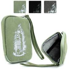 Digital Camera Protective Zipper Canvas Pouch Case FSLMRV-5