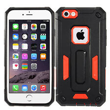 Red Dual Layer Hybrid Armor Cover Protector Phone Case Apple iPhone 6 6s