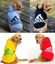 Puppy & Big Pet Dog Apparel Clothes Coat Hoodie Shirt Jacket Vest Dress Jumpsuit