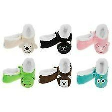 SNOOZIES ANIMAL LADIES WOMENS SMALL SIZE 3 TO 4 - VARIOUS COLOURS