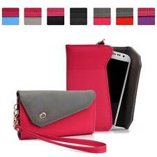 Womens Link Wallet Case Clutch Cover for Smart Cell Phones by KroO CRWL9