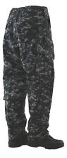 Tru-Spec Digital Urban 10 pocket Tactical Response Uniform pants 50/50 NYCO RS