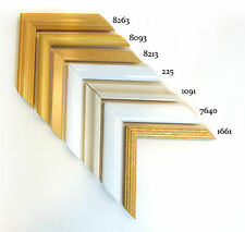 Custom Wood Picture Frames - Assorted Series 4 - Any Size! Diplomas & Photos!