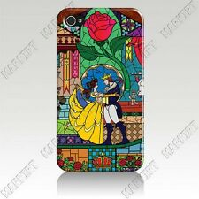Disney Beauty And The Beast Belle iPhone 4 4s OR 5 Cover Case Skin - FREE SHIP