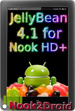 Jelly Bean Android 4.1/CM10 Micro SD card for Nook HD+ !