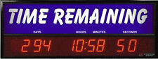 Backlit Digital LED Countdown Event Timer - Generic Time Remaining ETCD100L-01