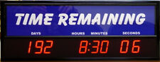 Digital LED Countdown Event Timer - Generic Time Remaining ETCD100-01