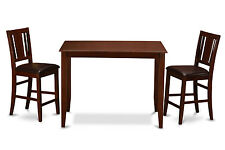 3 Piece gathering table set-counter height table and 2 counter height chairs.
