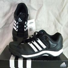 ADIDAS CORNER BLITZ 8  J LOW YOUTH FOOTBALL SHOES/CLEATS  BLACK/WHITE