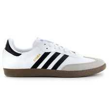 Adidas Men's Samba White/Gum/Black Classic Shoes G17102 NEW!