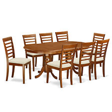 9 Piece dining table set-dining table plus 8 dining room chairs