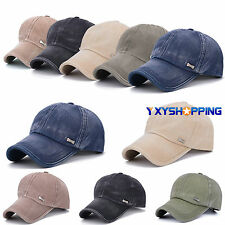 Men Women Adjustable Plain Baseball Cap Trucker Cap Sport Snapback Hip-hop Hat