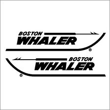 "Liquidation - Boston Whaler 18""5 Decals Factory Sized Hull Replacement Stickers"