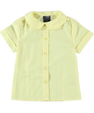 French Toast Back to School Round Collar Peter Pan Yellow Blouse Size 4-20 NWT