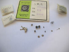IWC 85 ASSORTED NEW OLD STOCK MOVEMENT PARTS