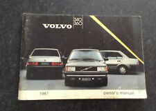 Volvo 340 /360 owners manual
