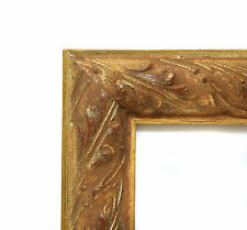 """Custom Picture Frame - Ornate Gold 1 1/4"""" - Any Size! Great for Diplomas, Photos"""