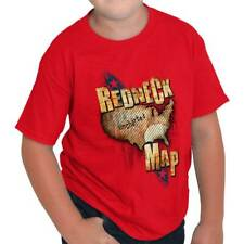 Southern Territory Map Redneck Funny Southern Dixie Humor Tee Youth T-Shirt