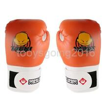Kid Kickboxing MMA Muay Thai Training Punching Bag Boxing Gloves Sparring Gloves