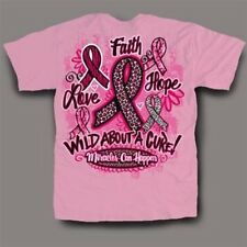 NEW Hot Gift Sweet Thing Funny Pink Ribbon Breast Cancer Girlie Bright T-Shirt