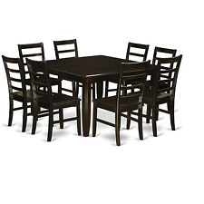 "9 Piece Dining Room Set-Square 54"" Gathering Table and 8 Stools"