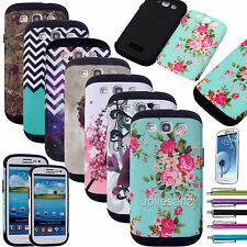 Slim Hybrid Shockproof Hard Impact Case Cover For Samsung Galaxy S3 S III i9300