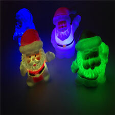 Colorful Changing Santa Claus LED Night Light Lamp Xmas Home Party Decor Gift