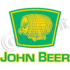 John Beer T-SHIRT ALL SIZES & COLORS (323)