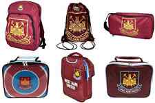 West Ham Utd FC Backpack/Ruck Sack Boot Bag/Shoe Bag Lunch Bag Gym/Swim Bag