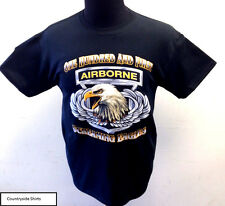 ONE HUNDRED AND FIRST AIRBORNE SCREAMING EAGLE T-SHIRT (191)