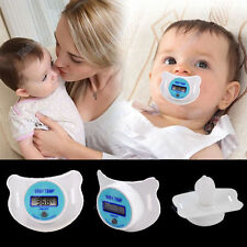 Safety Health Baby Kid Nipple Thermometer Infant Newborn Pacifier Temperature Z