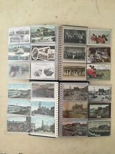 Collection Of 183 Vintage Blackpool Football Postcards From 1903 Onwards