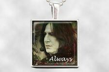 Harry Potter / Snape Always Pendant Necklace - In Memory of Alan Rickman