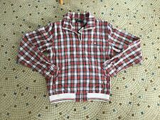 """AMAZING FRED PERRY BOMBER JACKET SIZE S 38"""" chest CHECK PLAID BNWT RRP £84.99"""