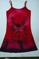 gothic rose t shirt dress  smock top also plus size