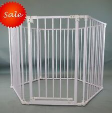 New Homey Pet 8 or 6 Panels Safety Baby Pet Dog Playard Play Pen  Gate Fence