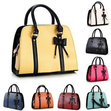 New Women Messenger Shoulder Bag Fashion Satchel Bow-knot Handbags Purse Totes