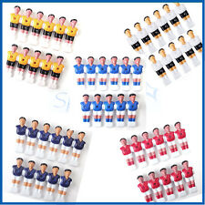 6Colors 11PCS Foosball table Men Player Soccer Table FOOTBALL TOURNAMENT FIGURES