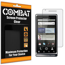 6X COMBAT HD Screen Protector Cover Shields For Motorola Droid 2 A955 Global