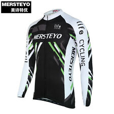 Bike Jersey Cycling Long Sleeve Jacket Cycle Winter Autumn Bicycle Sportswear