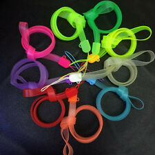 Colorful Straps Neck Lanyard For Cell Phone Charm Key Chain Hang Cords Rope Lot