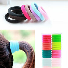 10pcs Baby Girls Children Elastic Hair Ties Bands Rope Ponytail Holders Headband