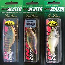 Evergreen BUZZER BEATER lipless crankbait bass fishing lures