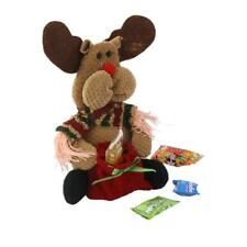 Christmas Deer/ Snowman / Santa Claus Doll Toy Candy Filler Gift Party Bag Sack