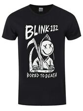 Blink-182 Blink 182 Bored To Death Men's Black T-shirt