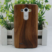 New Handmade Real Natural Bamboo Wood Wooden Hard Cover Case for LG G3