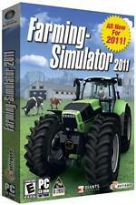 Farming Simulator 2011 (PC, 2010) Brand New Factory Sealed