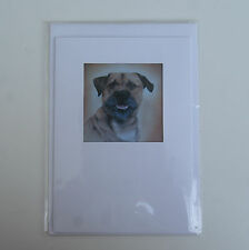 Dog Greetings Card * BORDER TERRIER by UK artist  * 3 images available *