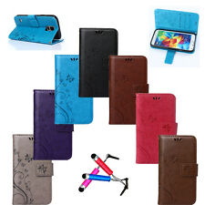 Hot Magnetic Wallet Flip PU Leather Stand Card Case Cover For Samsung Galaxy+Gft