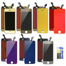 For iPhone 5S Replace LCD Display+Touch Screen Digitizer Assembly Mirror Color